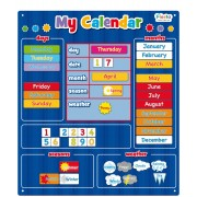Magnetic My Calender Blue - Large