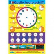First French Time Wall Chart