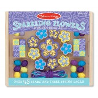 Bead Set - Sparkling Flowers
