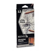 Reeves Sketching Pencils - set of 12