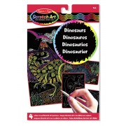 Scratch Art Colour-Reveal Dinosaurs Pack