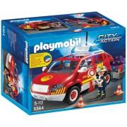 Playmobil 5364 Fire Chief's Car with Lights and Sound