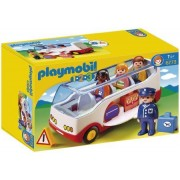 Playmobil 6773 1, 2, 3 Airport Shuttle Bus