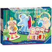 Box of Four In the Night Garden Shaped Puzzles
