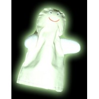 Tellatale Glow in the Dark Ghost Finger Puppet