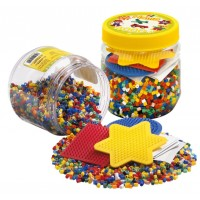 Hama Beads 4000 Piece Set - Yellow Tub 2052