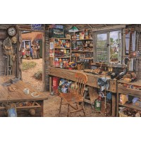 1000 Piece DeLuxe Puzzle - Dad's Shed