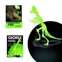 Georex - Tyrannosaurus Rex-Glow In The Dark Skeleton