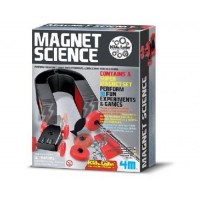 4M Kidz Labs Magnet Science - Perform fun magnet games and experiments