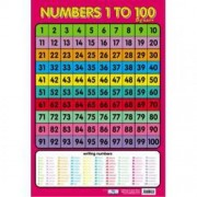 Numbers 1 - 100 Wall Chart