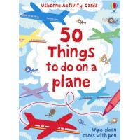 Activity Cards: 50 things to do on a plane