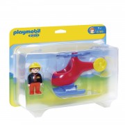 Playmobil 6789 Fire Rescue Helicopter