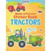 Make a Picture Sticker Book Tractors