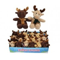 Christmas Chilly Chums Mini Soft Toy - Reindeer
