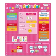 Magnetic My Calender Pink - Large