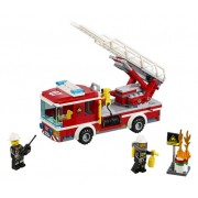 Lego City Fire Ladder Truck 60107