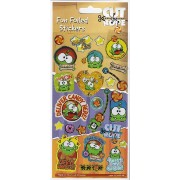 Cut the Rope Large Foil Stickers