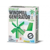 4M Kidz Labs Windmill Generator - Learn about renewable energy