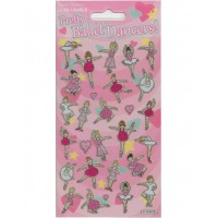 Ballet Dancer Sparkle Stickers