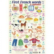 First French Words Wall Chart