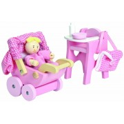 Doll's House Nursery Set - Le Toy Van