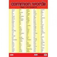 Common Words Level 2 Wall Chart