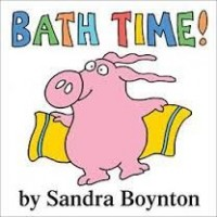 Bath Time Bath Book