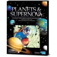 4M Planets & Supernova - Glow-in-the-Dark Planets & 100 Nova Stars