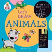 Let's Draw Animals Book and Chalk Set