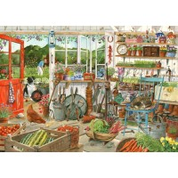 1000 Piece DeLuxe Puzzle - Potting Shed