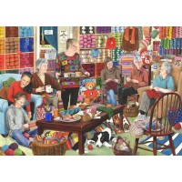 1000 Piece DeLuxe Puzzle - Knit & Natter