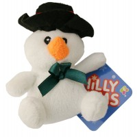 Christmas Chilly Chums Mini Soft Toy - Snowman