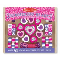 Bead Set - Shimmering Hearts