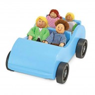 Car & Doll Set