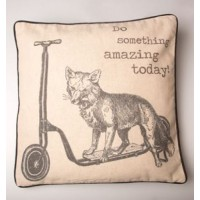 Do Something Amazing Today Fox Cushion Cover & Inner