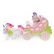 Budkins Carriage and Unicorn with Fairy