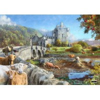 1000 Piece DeLuxe Puzzle - Highland Morning