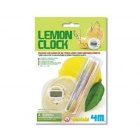 4M Kidz Labs Lemon Clock - Discover the science of batteries