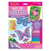 Mess Free Glitter - Flower and Butterfly Scenes