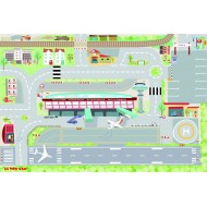My First Airport Playmat (80x120cm)  - Le Toy Van
