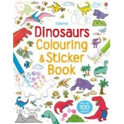First Colouring Books with stickers: Dinosaurs