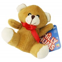 Christmas Chilly Chums Mini Soft Toy - Teddy Bear
