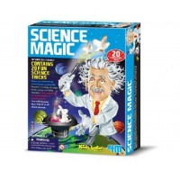 4M Kidz Labs Science Magic - Contains 20 Fun Science Tricks