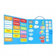 My Calendar - Magnetic Wall Chart Blue small