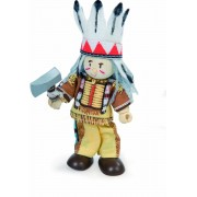 Budkins Indian Chief Bear Claw