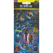 Dr Who Small Foil Stickers