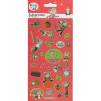 Charlie & Lola Large Foil Stickers
