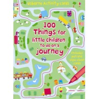Activity Cards: 100 Things for little children to do on a journey