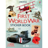 Information Sticker Books: First World War Sticker Book
