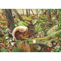 1000 Piece DeLuxe Puzzle - Save Our Squirrels